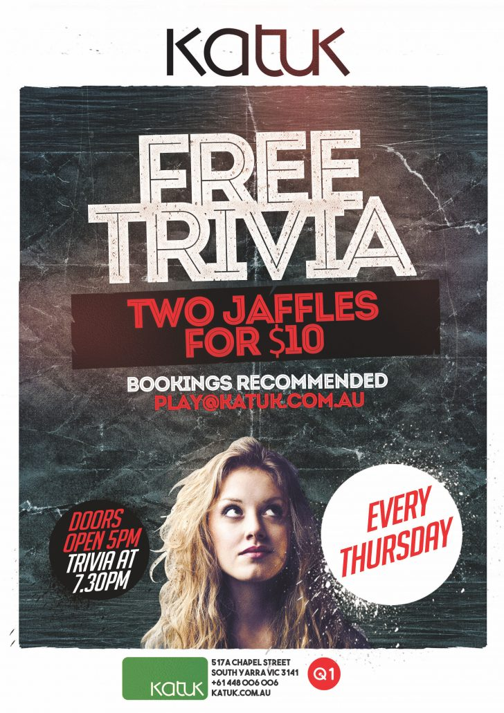 K Trivia Thursday